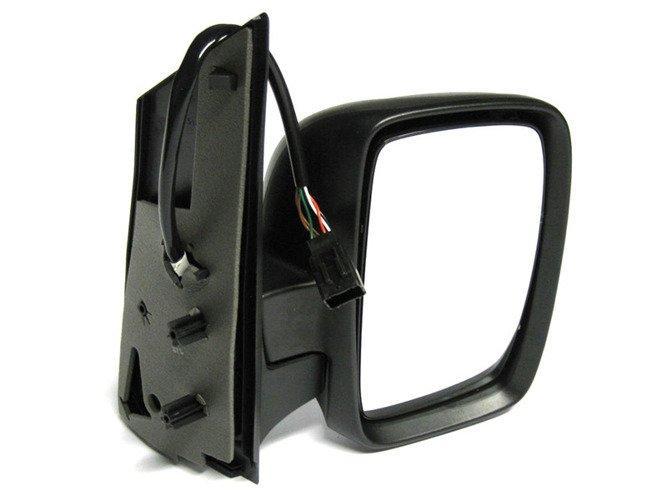 Citroen Jumpy 2007- наружное зеркало электро с подогревом черное правое, Код-6523