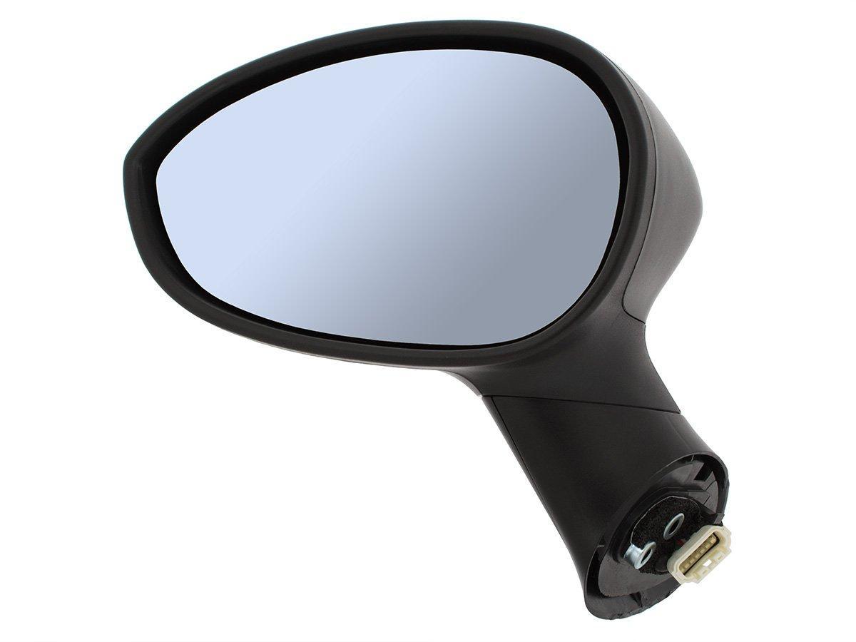 Fiat Punto VAN (199) 2008- наружное электрическое зеркало черный левая сторона, Код-17480