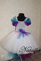 """Карнавальний костюм, спідниця сукні з фатіну """"Поні принцеса КАДЕНС"""", фото 3"""
