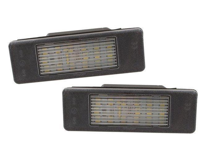 Peugeot 307 308 407 607 807 эксперт лампы подсветки номерного знака LED 2 шт. комплект., Код-21169