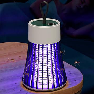 Лампа знищувач комах mosquito killer lamp BG-002 Зелена, ліхтар від комах (лампа від комах)