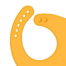 Lb Детский нагрудник CUMENSS Cat Yellow силиконовый слюнявчик с карманом для малышей