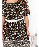 Женственное платье миди в романтическом стиле  Размеры: 50,52,54,56, фото 4