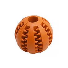 Lb Іграшка м'яч для собак Pipitao 026631 Orange D:5,0 см жувальний гумовий