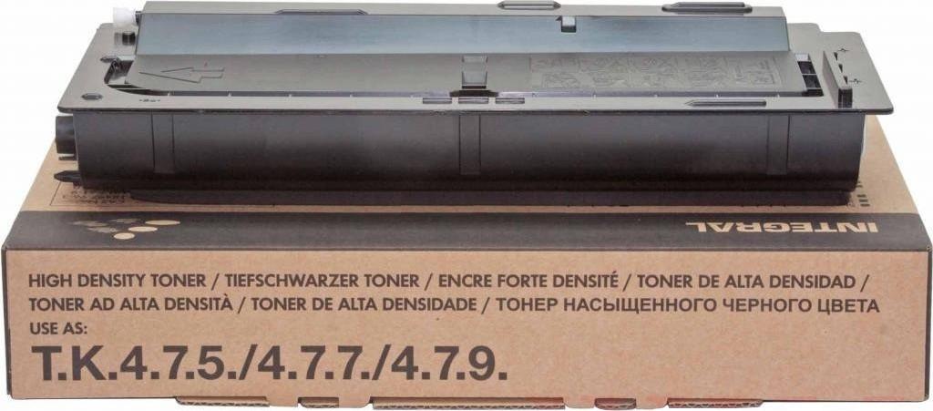 Тонер Integral (12100097) Kyocera Mita Ecosys M4125idn/M4132idn Black (аналог TK-6115)