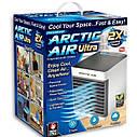 МІНІ кондиціонер Arctic Air Ultra портативний охолоджувач повітря ⚡⚡робота від USB, фото 6