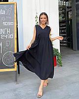 Жіноче літнє плаття міді, фото 1