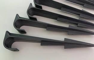 Спицы прижимная (колья) для фиксации трубки