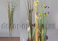 Ветка декоративная с цветными листочками 160см, фото 1