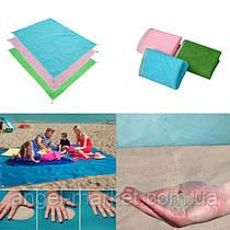 Пляжний килимок підстилка анти-пісок самоочищається практичний для моря і пікніка