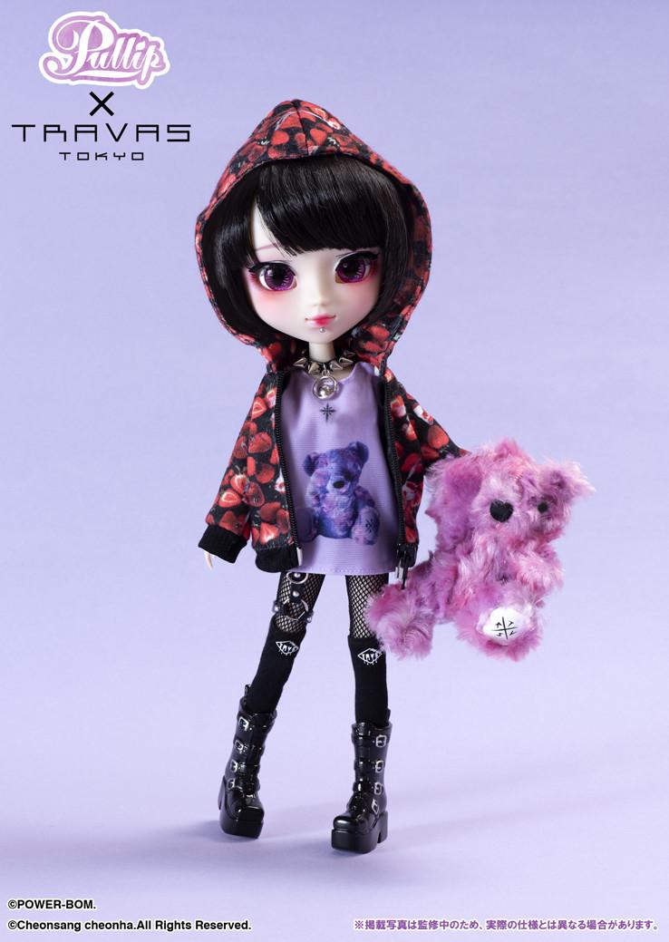 Кукла Travas Tokyo Pullip Noan 2020 Пуллип Ноан с маской Травас Токио оригинал