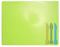 Дошка для пластиліну ZiBi зі стеками салатова