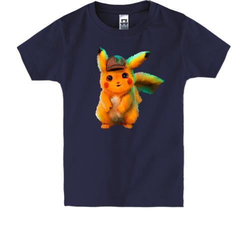 Дитяча футболка з артом Детектива Пікачу 2
