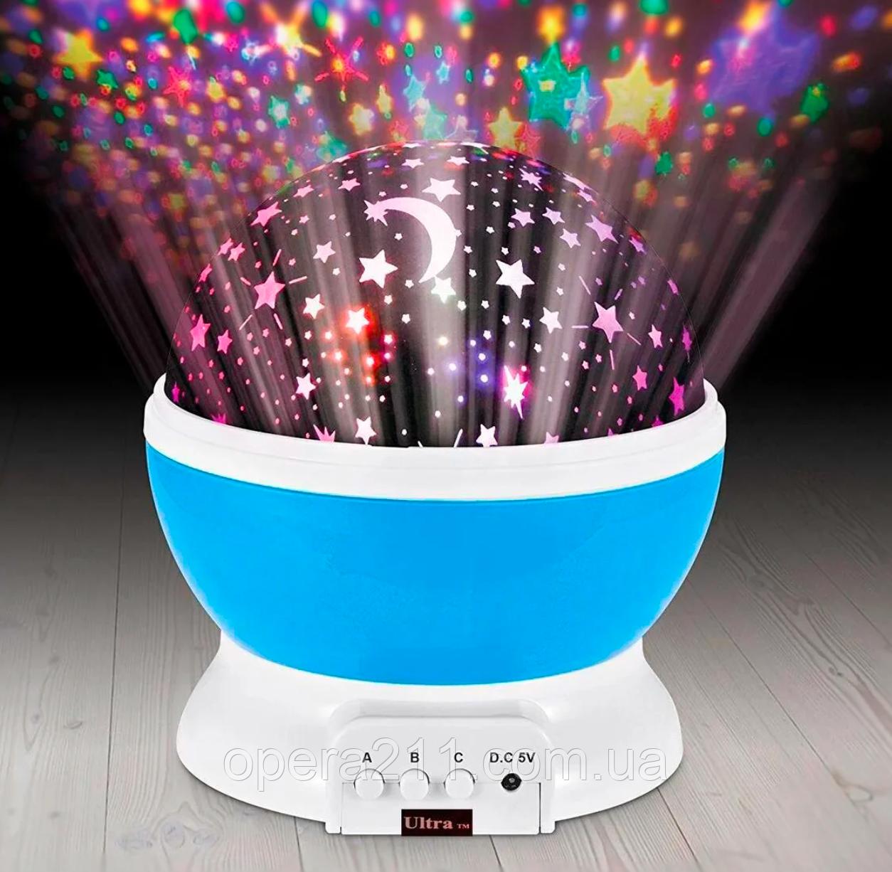 Новогодний свет -- Ночник проектор звездного неба Star Master Dream / ART-0314 (48шт)
