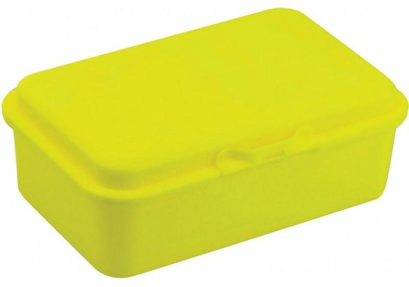 Ланчбокс шкільний 750 мл Economix Snack, неоновий жовтий