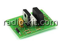 Радиоконструктор K142 (Мягкий старт БП УНЧ)