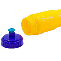 Пляшка для води спортивна 750мл MOTIVATION FI-5959 Помаранчевий