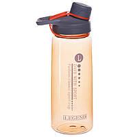 Пляшка для води спортивна FI-6426 700мл Коричневий