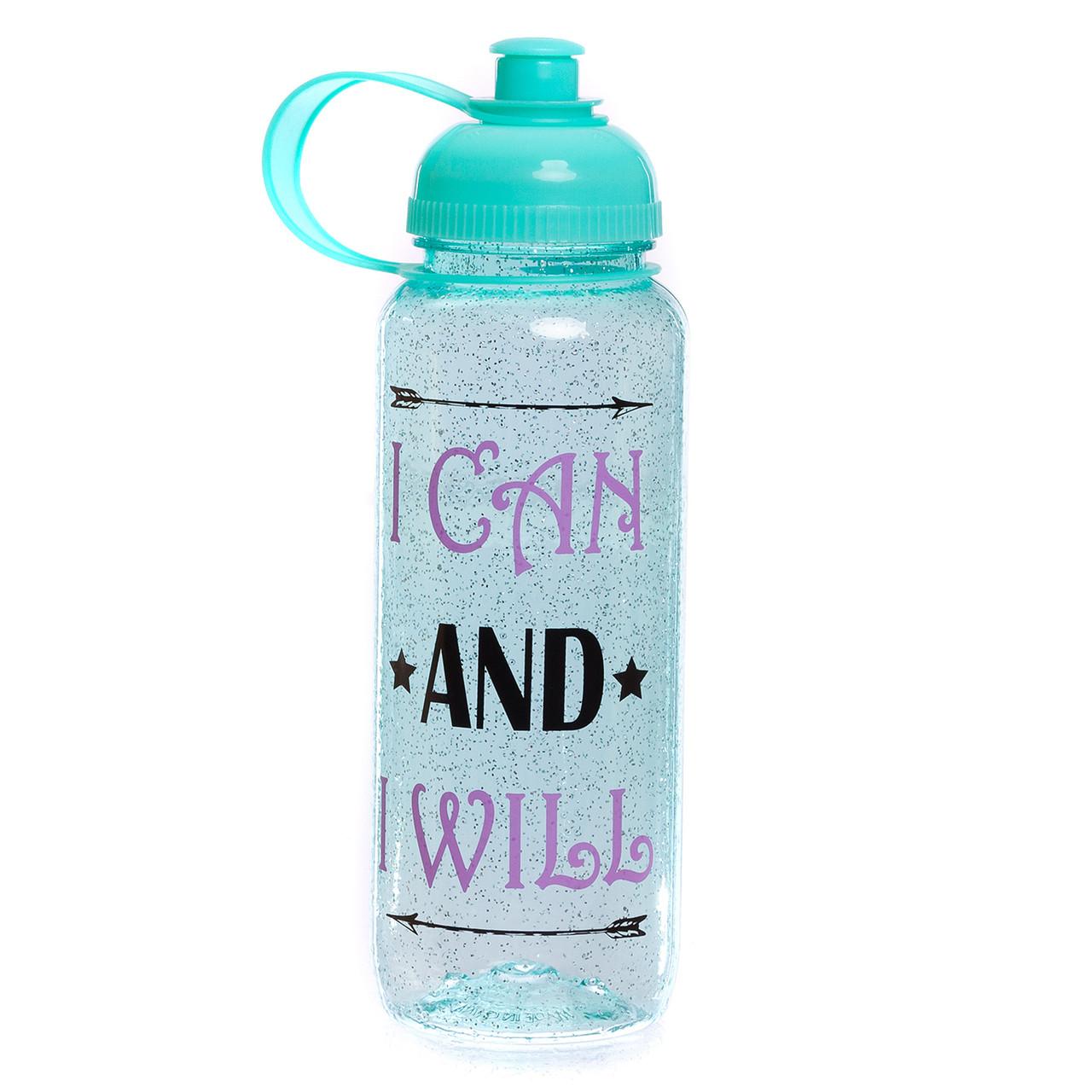 Бутылка для воды спортивная 700мл MOTIVATION FI-5966, Бирюзовый