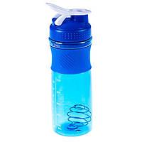 Шейкер пляшка для води (760 мл) DJ-07, Синій