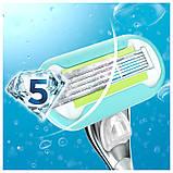 Жіночий станок для гоління, для гоління gilette Venus Platinum Extra Smooth Німеччина, фото 4