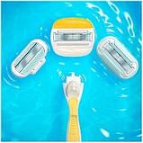 Жіночий станок для гоління, для гоління gilette Venus Olaz Comfortglide, Оригінал P&G Польща, фото 3