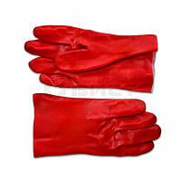 Рукавички гумові олієстійкі 35см 16-226 Technics // Перчатки резиновые маслостойкие