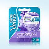Для гоління gilette Venus Comfortglide Breeze 4 шт. в упаковці, Оригінал P&G Польща, змінні касети для гоління, фото 2