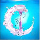 Для гоління gilette Venus Comfortglide Breeze 4 шт. в упаковці, Оригінал P&G Польща, змінні касети для гоління, фото 3