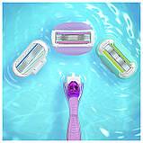 Для гоління gilette Venus Swirl Extra Smooth 4 шт. в упаковці, Оригінал P&G Польща, змінні касети для гоління, фото 6