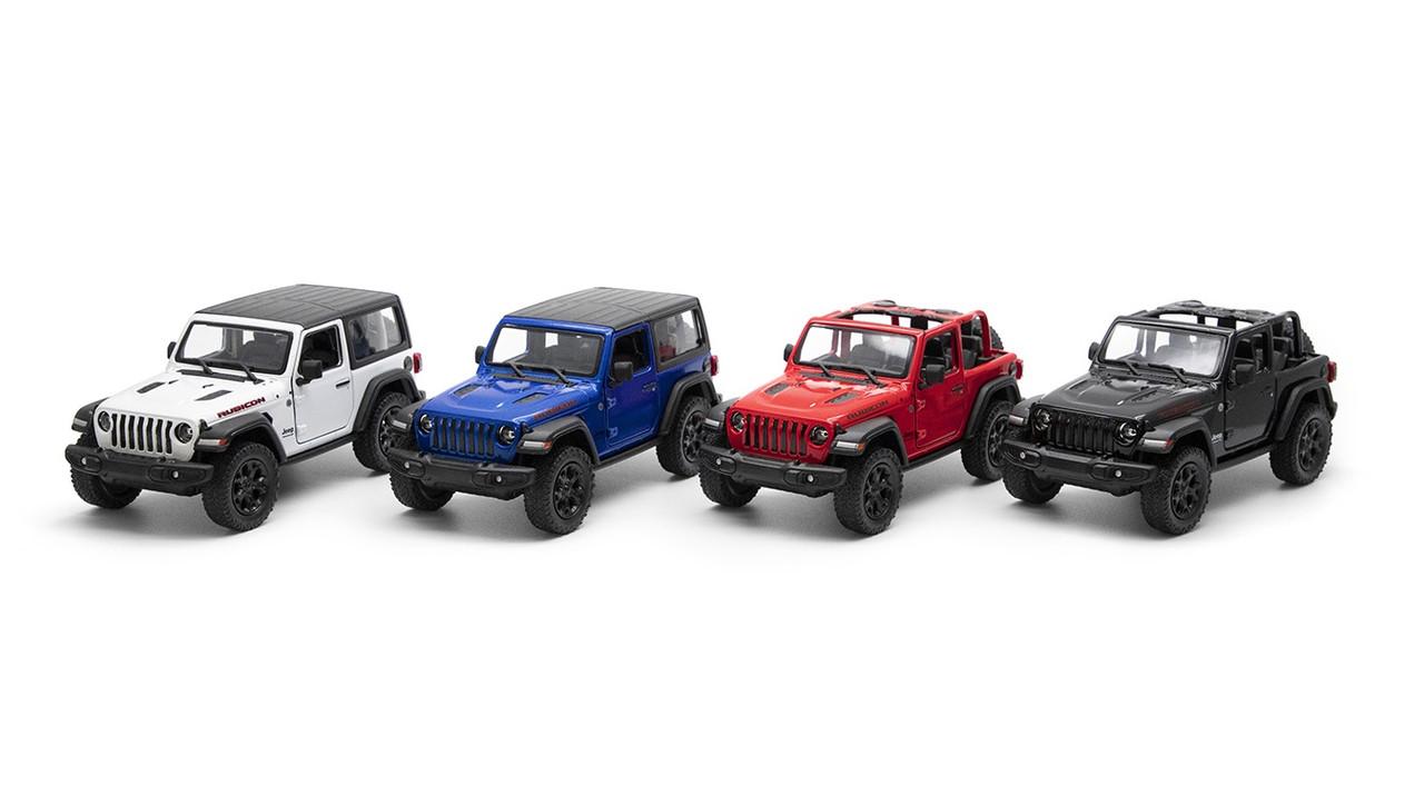 "KINSMART Мет. машина ""Jeep Wrangler"""