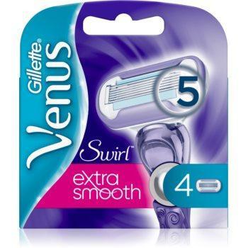 Gilette Venus Swirl Extra Smooth 4 шт. в упаковке, Оригинал P&G Польша, сменные кассеты для бритья