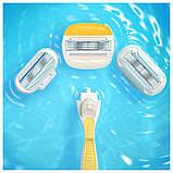 Для гоління gilette Venus Olay 4 шт. в упаковці, Оригінал P&G Польща, змінні касети для гоління, фото 2