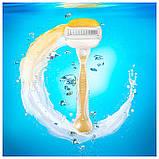 Для гоління gilette Venus Olay 4 шт. в упаковці, Оригінал P&G Польща, змінні касети для гоління, фото 4