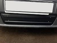РОЗПРОДАЖ!!! Нижня накладка на решітку (під номером) 2007-2015, Глянцева для Renault Trafic 2001-2015 рр., фото 1