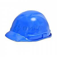 Каска будівельника синя 16-502  // Каска строителя, Украина