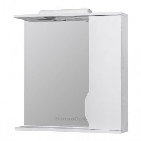 Зеркало в ванную 70 см с подсветкой РЕСПЕКТ ИЗЕО Izeo - 70R, фото 2