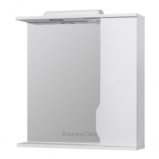 Зеркало в ванную 70 см с подсветкой РЕСПЕКТ ИЗЕО Izeo - 70R