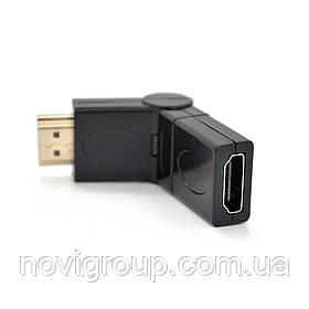З'єднувач HDMI 180 гр. ( для з'єднання HDMI кабелів)