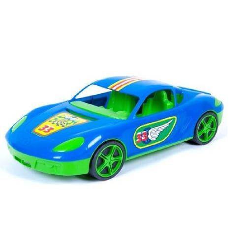 Машина спортивна з наклейками (синя) KW-07-702-1N