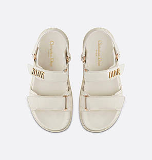 "Сандалі Dior Sandals White ""Білі"", фото 2"