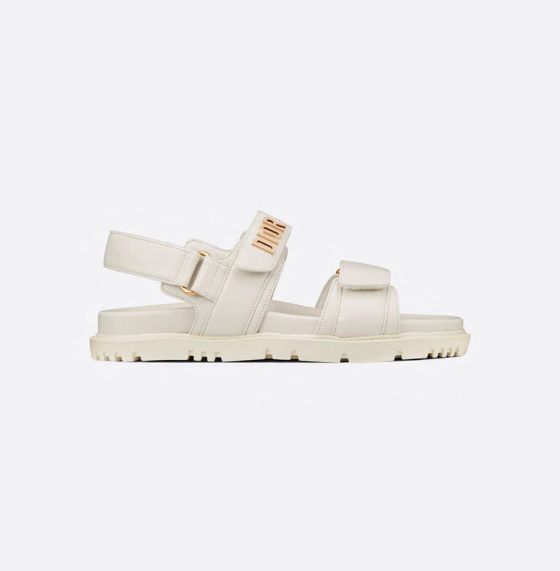 """Сандалі Dior Sandals White """"Білі"""""""