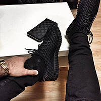 Кроссовки Adidas Yeezy Boost 350 Low чёрные 42Р