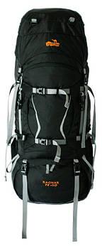 Рюкзак Ragnar 75+10 чорний Tramp (TRP-044-black)