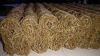 Гофрированная кокосовая койра в листах 200*180*4.5 см  пропитанная НАТУРАЛЬНИМ ЛАТЕКСОМ 7600 гр/м2