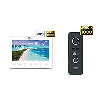 Комплект відеодомофона Neolight NeoKIT HD+ Black