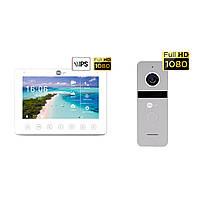 Комплект відеодомофона Neolight NeoKIT HD+ Silver