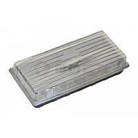 Кришка прозора для касет (18, 36, 50 вічок), 440х205х45 мм 69-168 | крышка прозрачная кассет