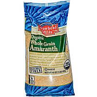 Амарант, семена органические, 453г, Arrowhead Mills, Organic, Whole Grain Amaranth