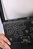 Сумка клатч женская черная код 7-8000, фото 3